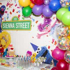 Sesame Street Party Ideas For A Girl Birthday Catch My Party