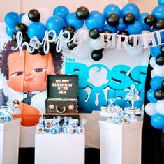 Boss Baby Party Ideas For A Boy Birthday Catch My Party
