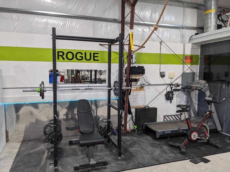 rogue r 3 power rack weight training