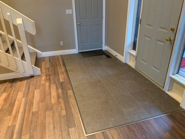 true grout vinyl floor tiles 7 mm 10 box clay