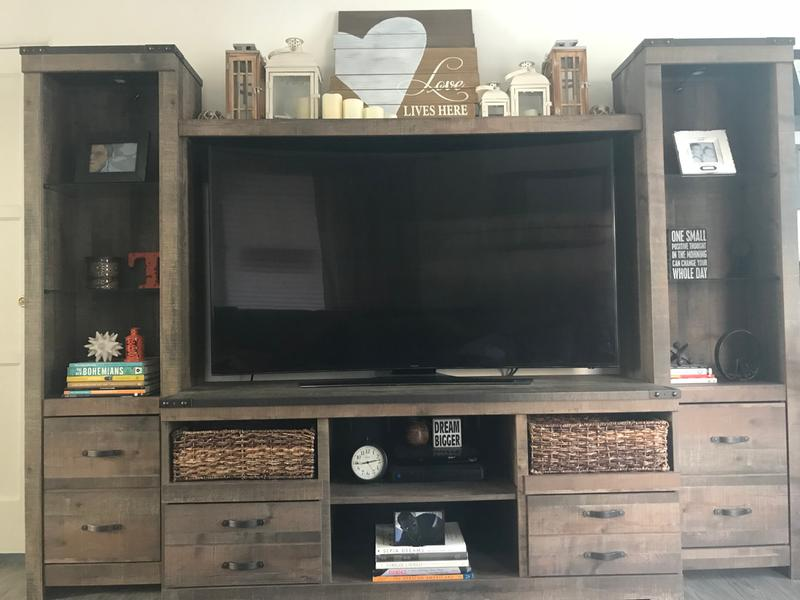 my trinell entertainment center