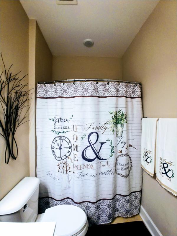 avanti modern farmhouse shower curtain