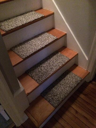 Flor In The Deep Titanium Bone 19 7 In X 19 7 In Carpet Tile 6 | Flor Carpet Tiles For Stairs | Diy Stair | Carpet Runners | Rug | Flooring | Floor Tiles