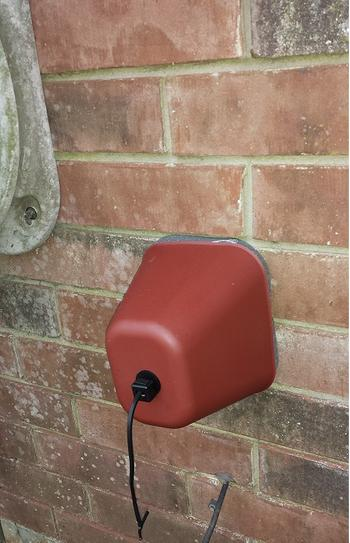 hard outdoor faucet cover