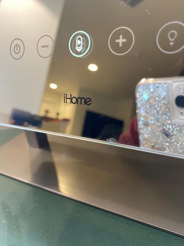 ihome hollywood bluetooth vanity mirror