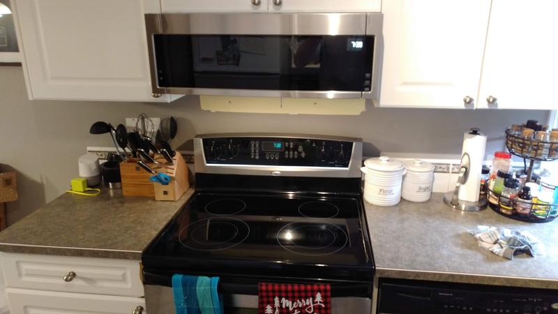 over the range microwave oven 1 1 cu ft 900 w ss