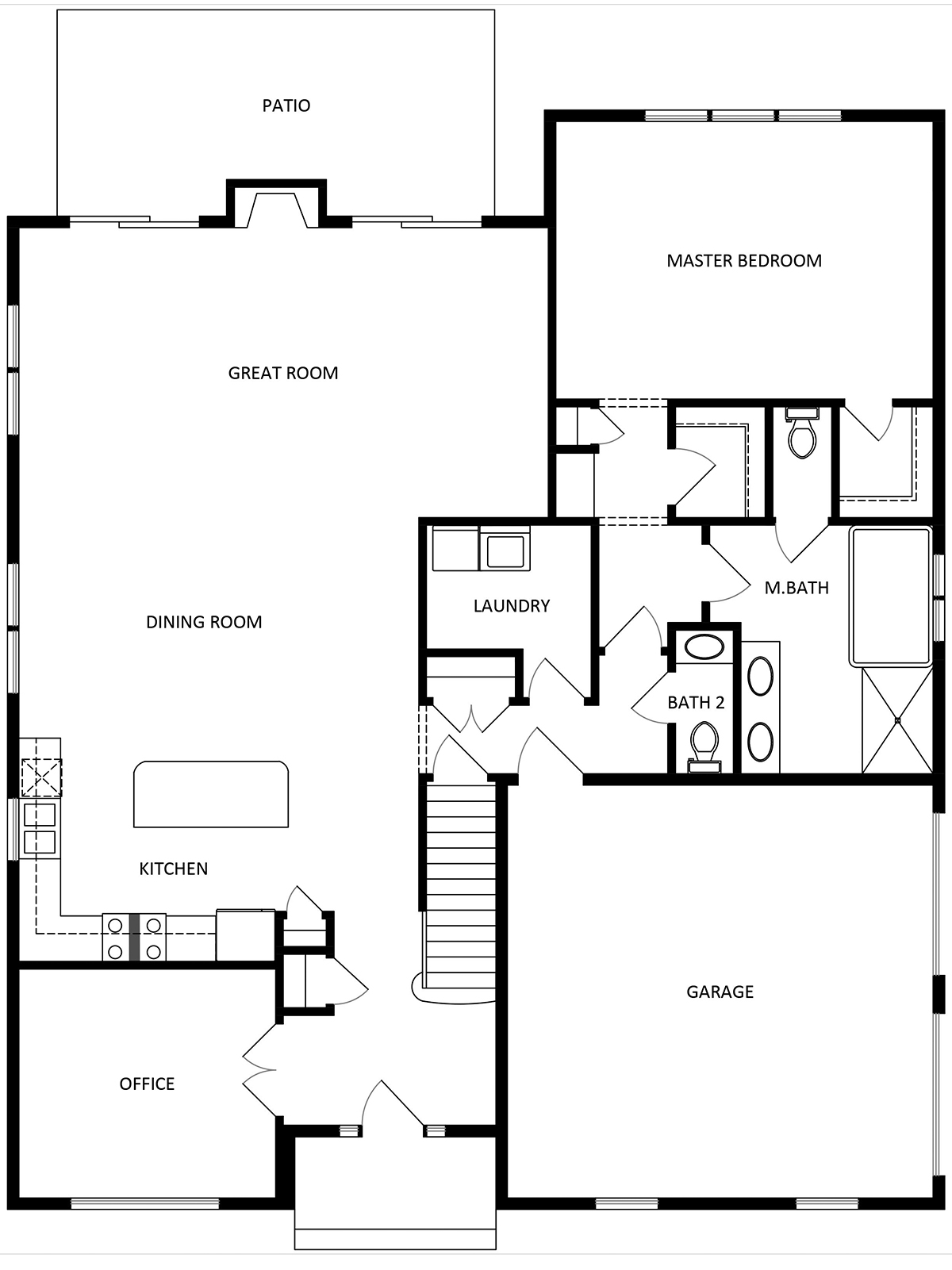 The Buckingham Floorplan