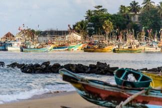 Hafen von Tangalle