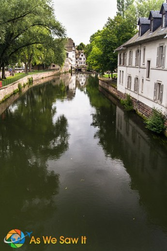 Strasbourg's pretty waterways