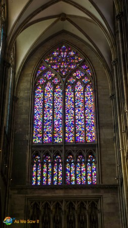 Stained glass window, Cologne Cathedral
