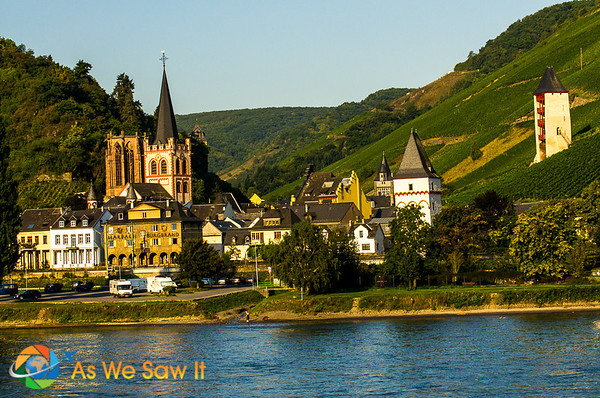 Charming village along the middle rhine