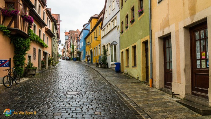 Rothenburg ob der Tauber is a town on the Romantic Road