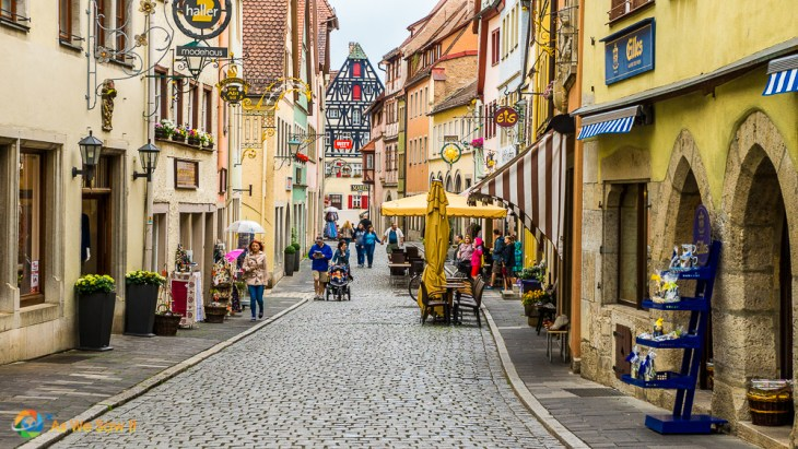 Capturing everyday life is so easy in Rothenburg, Germany since there is so much of it.