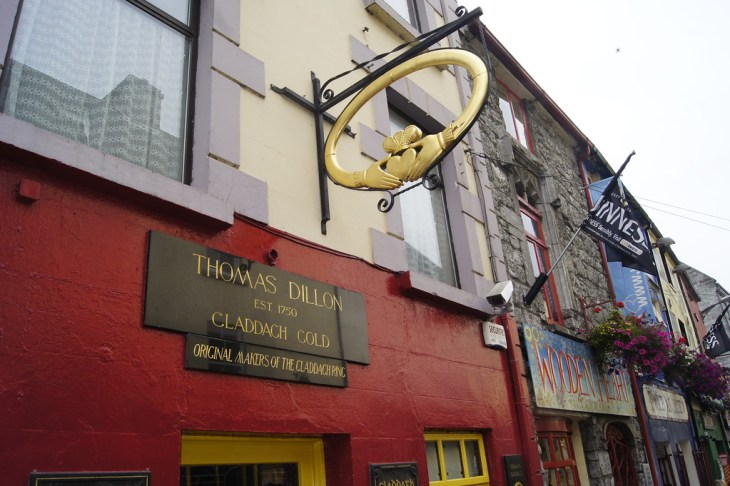 Thomas Dillon Jewellers, Galway, is home of the original Claddagh ring.