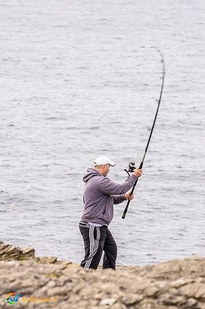 Irish fisherman at Loop Head, a Cliffs of Moher alternative