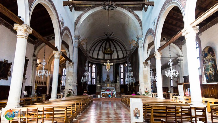 inside of church of st. peter the martyr