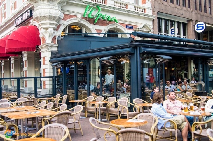 Cafe l'Opera, Rembrandtplein, Amsterdam