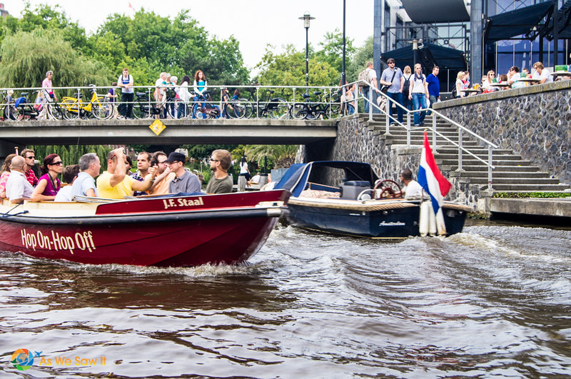 Canal Tour Amsterdam Hop On-Hop Off