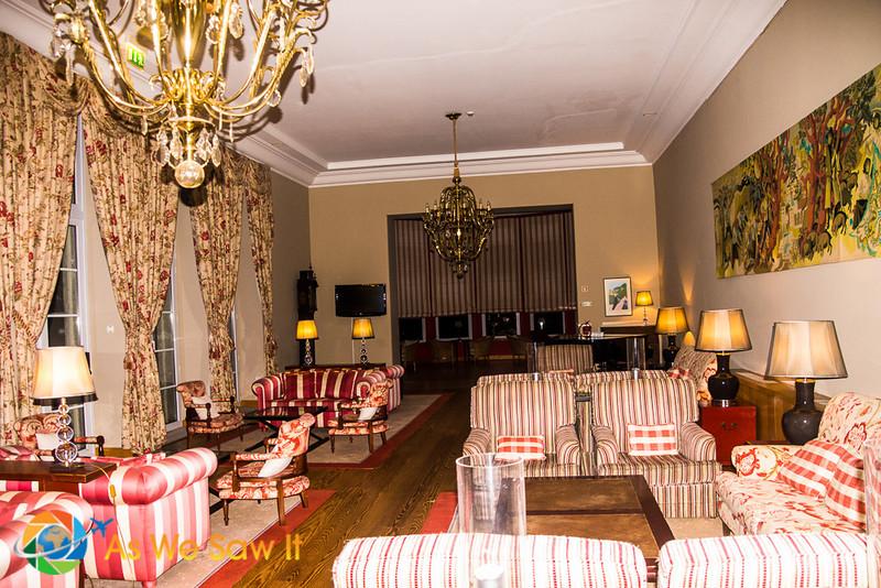 Portuguese pousada sitting room