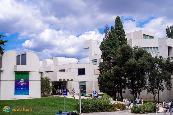 Joan Miro Museum Barcelona Spain