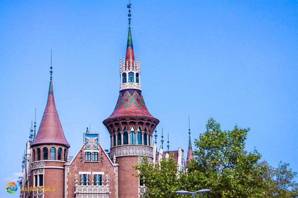 Casa de Punxes, Barcelona