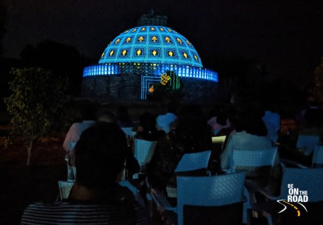 Sound and Light show at Sanchi Stupa, Madhya Pradesh
