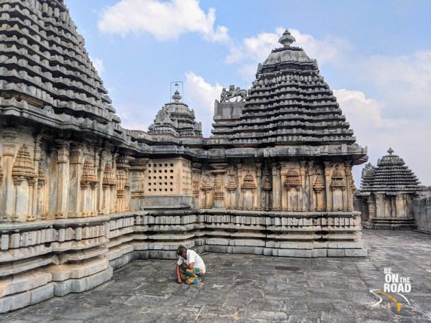 The oldest Hoysala era temple