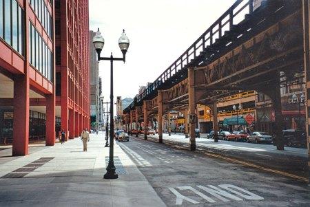 Strasse in Chicago