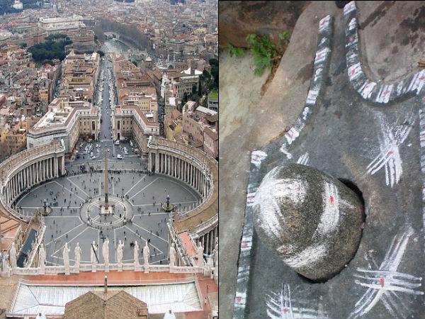 Shocking Connection Between The Vatican Amp Shiva Linga