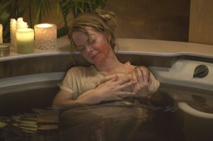Grace (Jordan Ladd) finds that after her dead baby returns to life, it has a strange apetite.