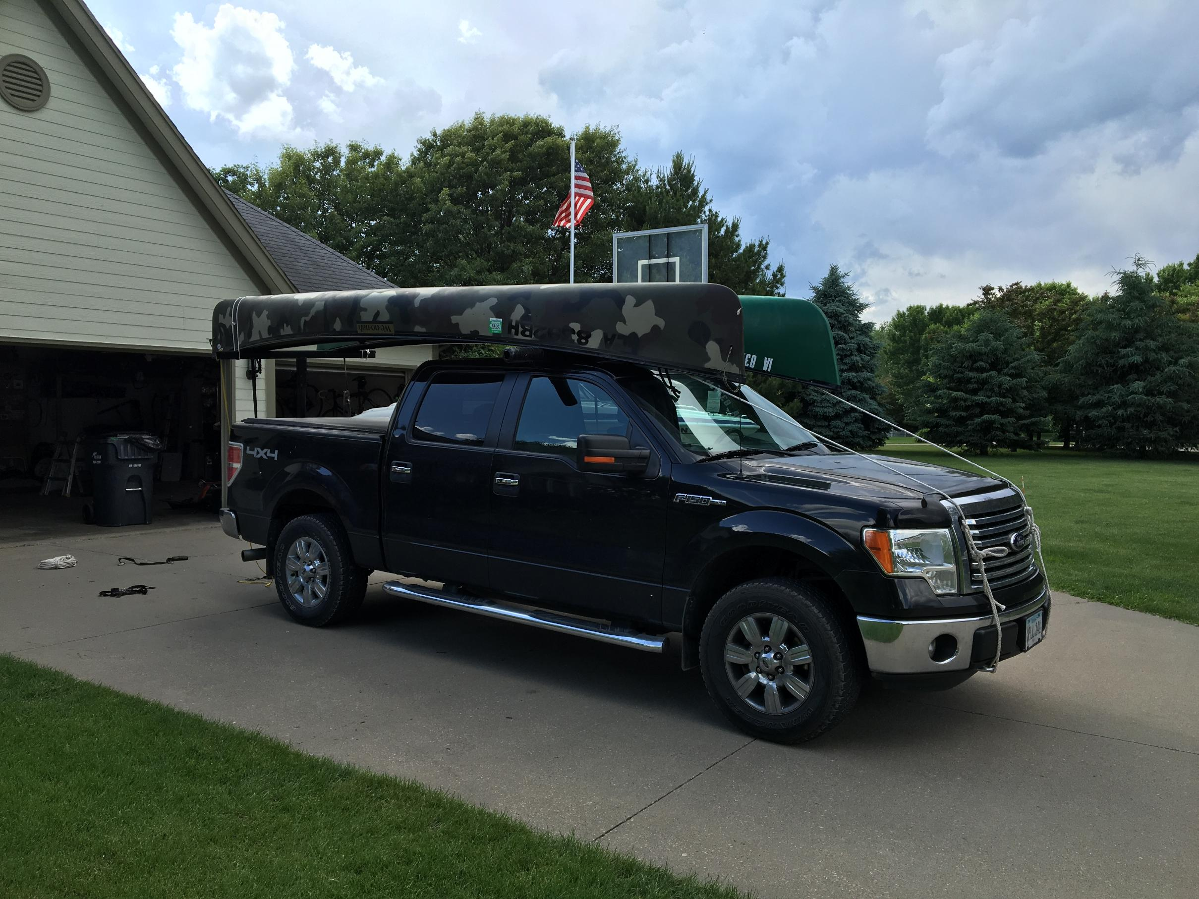 f150 bed rack boundary waters gear forum
