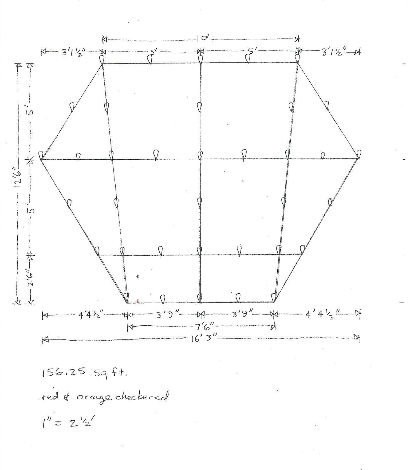 Why Not Asymmetry Hex Tarps