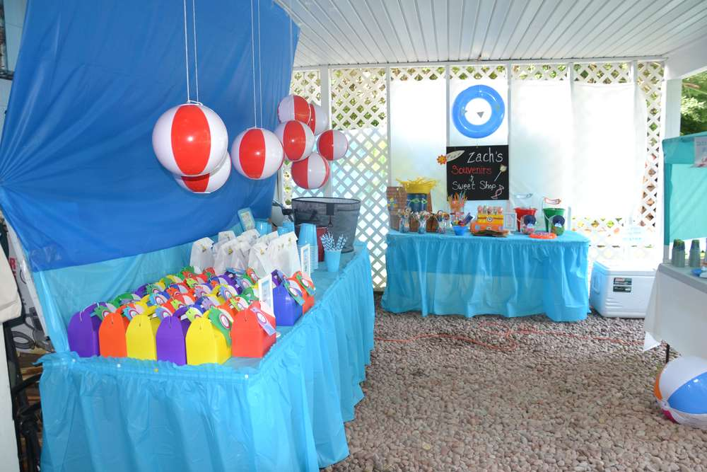The Beach Birthday Party Ideas