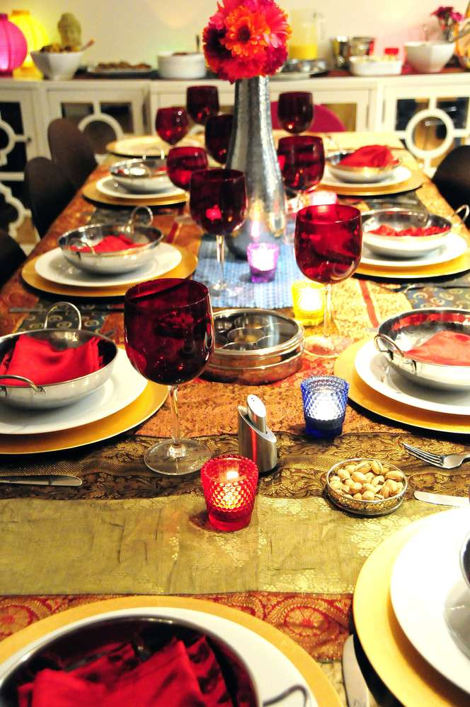 Indian Dinner Party Dinner Party Party Ideas Photo 4 Of