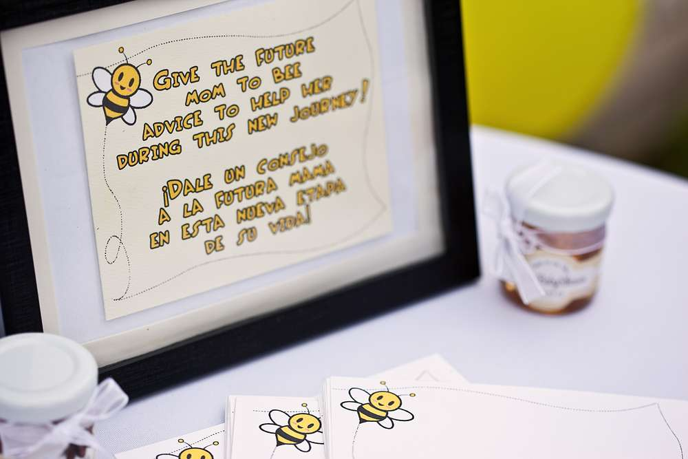 Mom To Bee Baby Shower Favor Ideas