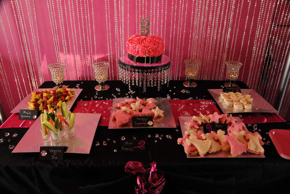 Glitz And Glam Birthday Party Ideas Photo 3 Of 20 Catch My Party