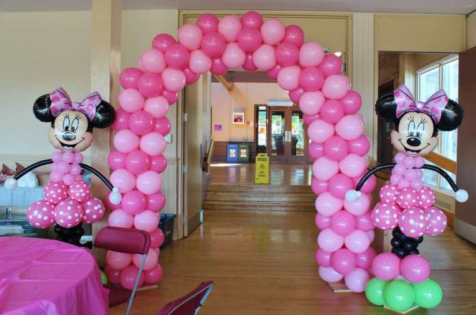 Globos de Minnie Mouse