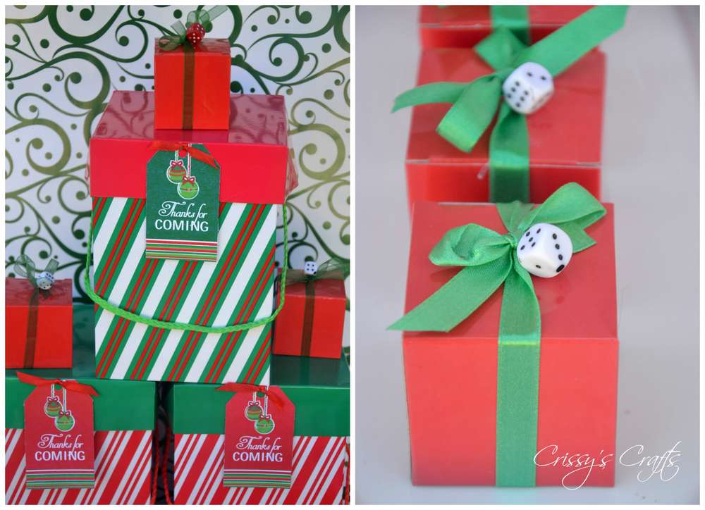 Holiday Bunco ChristmasHoliday Party Ideas Photo 1 Of
