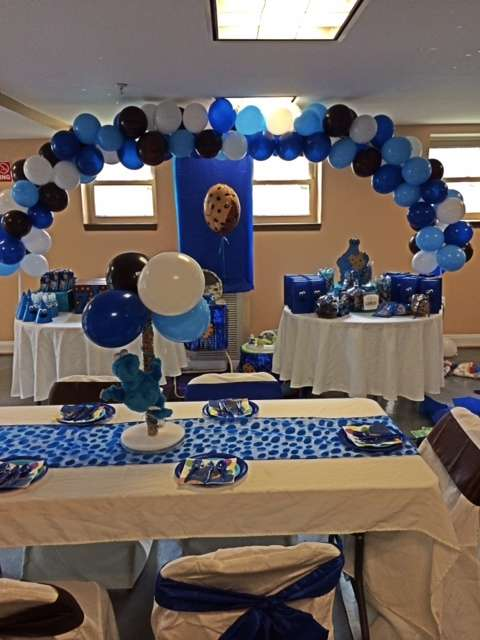 Cookie Monster Birthday Party Ideas Photo 7 Of 13 Catch My Party