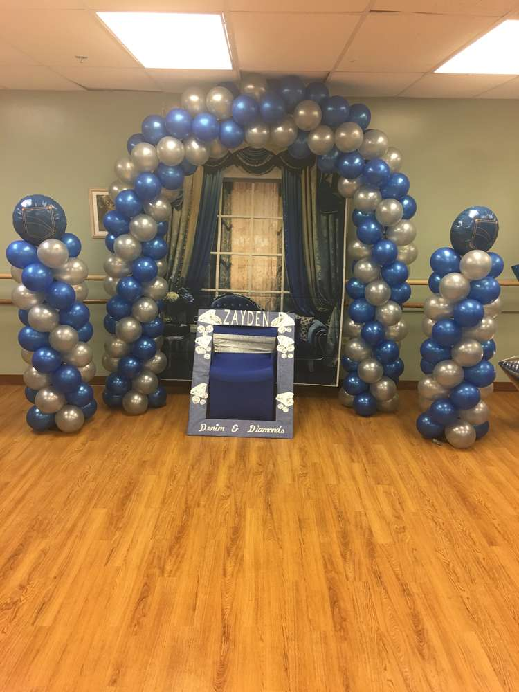 Denim And Dismonds Baby Shower Party Ideas Photo 1 Of 18