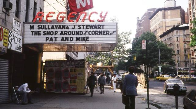 Image result for The Regency Theater new york