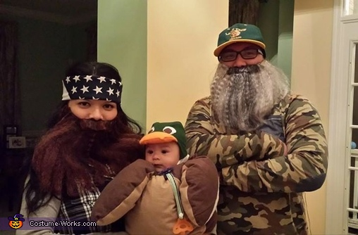 Duck Dynasty Family Costume