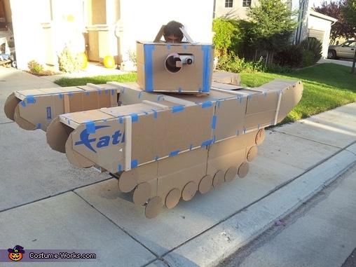 Halloween Tank Costume Photo 45