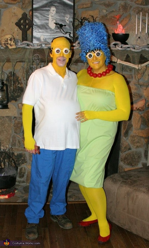 Homemade Couples Costumes