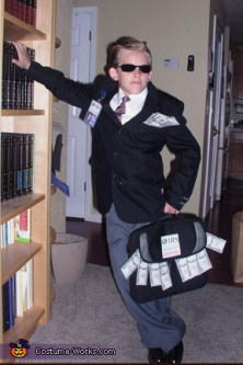 Image result for kid dressed as an irs agent
