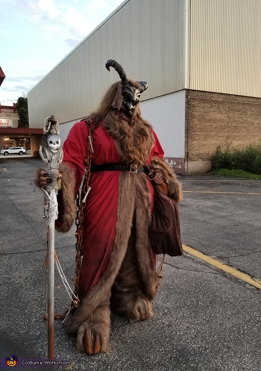 Homemade Krampus Costume