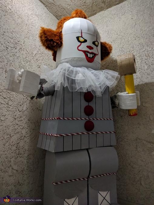 Lego Pennywise Costume Photo 3 5