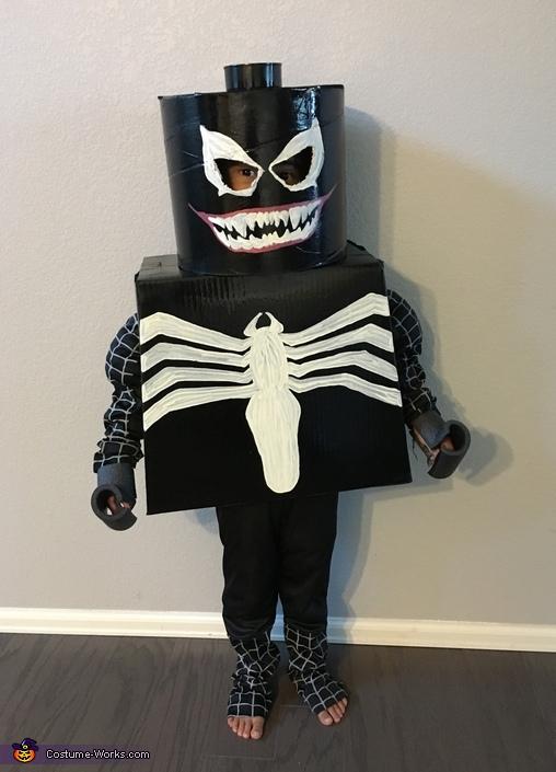 Black Spider Man Lego Venom Costume Last Minute Costume