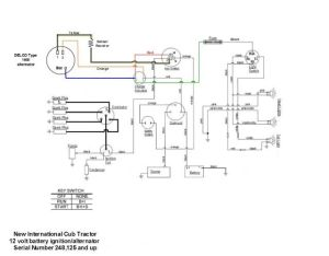 Will this wiring diagram work??  Farmall Cub