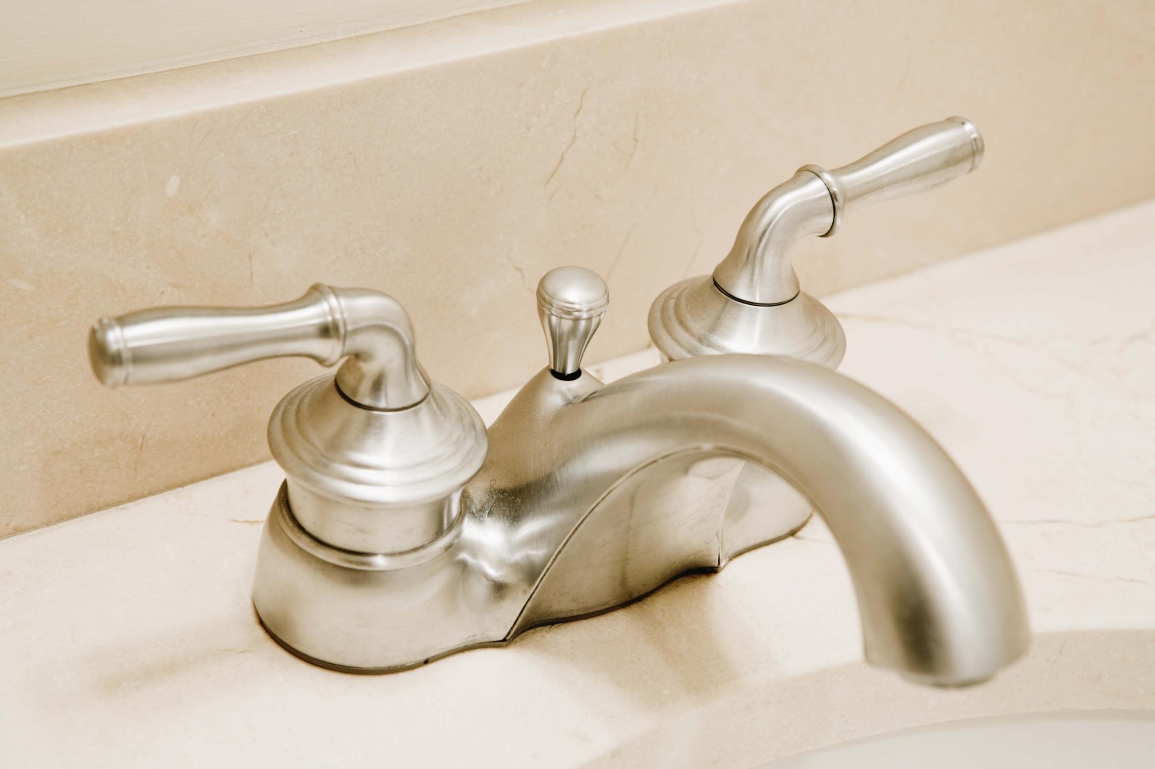 bathroom faucet how to fix bathroom sink faucet handle